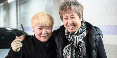 전수창업 전수자 한기순 대표와 이수자 김주원 대표